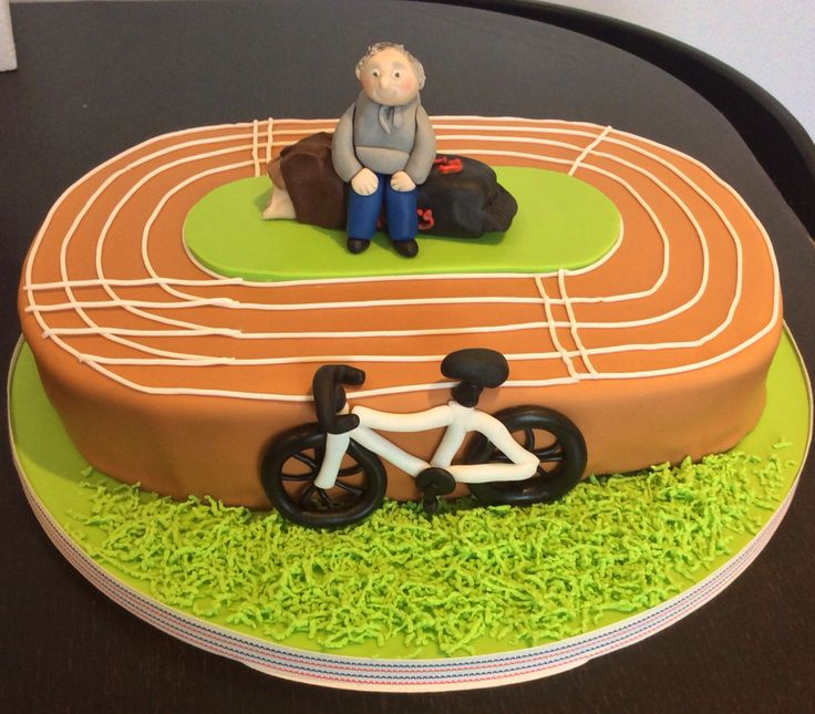 27 Best Images About Athletes Track Cake On Pinterest
