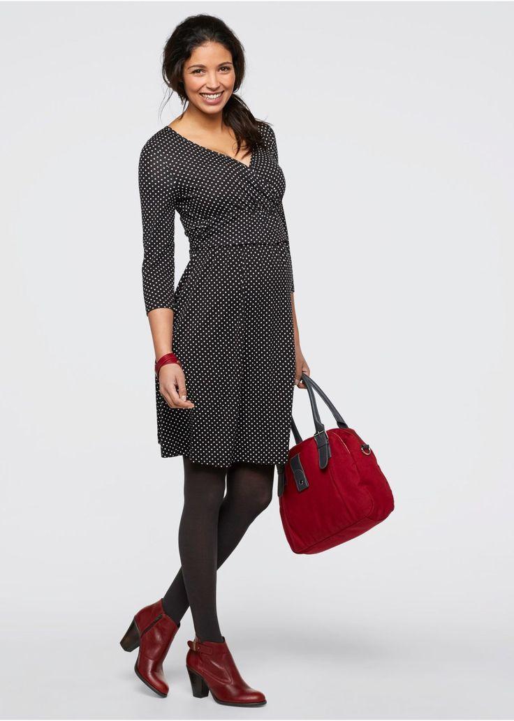 Sukienka dla ciężarnych i karmiących z dżerseju • 119.99 zł • bonprix