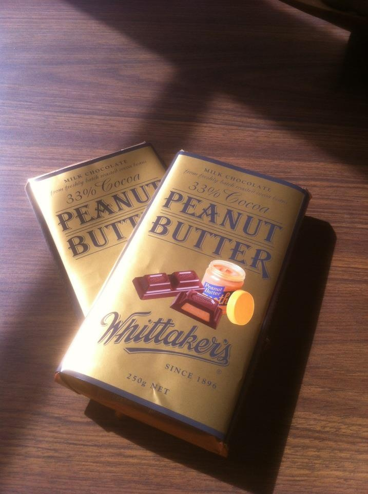 Whittakers Peanut Butter Block. I hate peanuts, but this stuff is AMAZING! If you don't live in NZ, you're missing out!