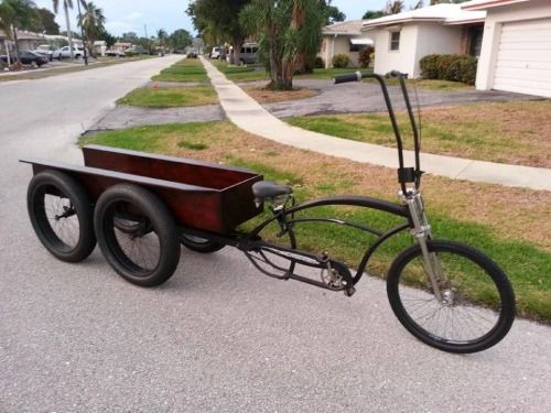 Tricycle Restoration Parts : Images about custom trike bicycles on pinterest