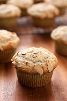 Almond Poppy Seed Muffins - Cooking Classy