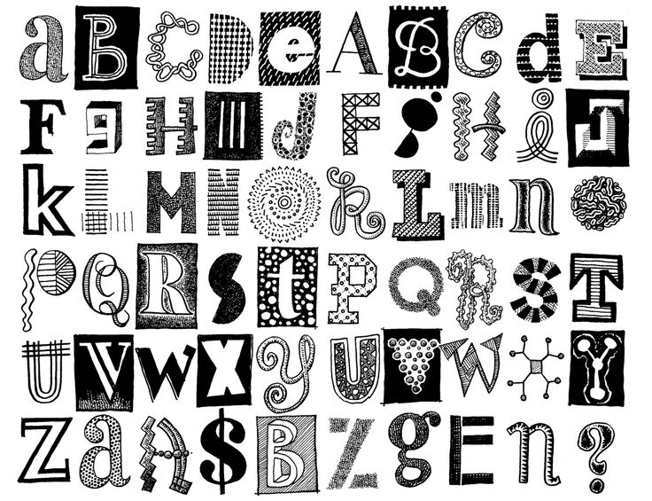 25 best doodle letters images on pinterest coloring books doodle alphabet google search thecheapjerseys Choice Image