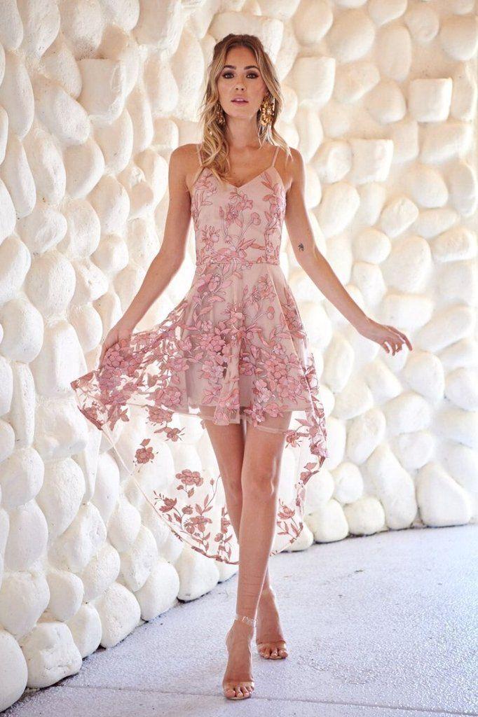 Saskia High Low Dress  12fb4e502