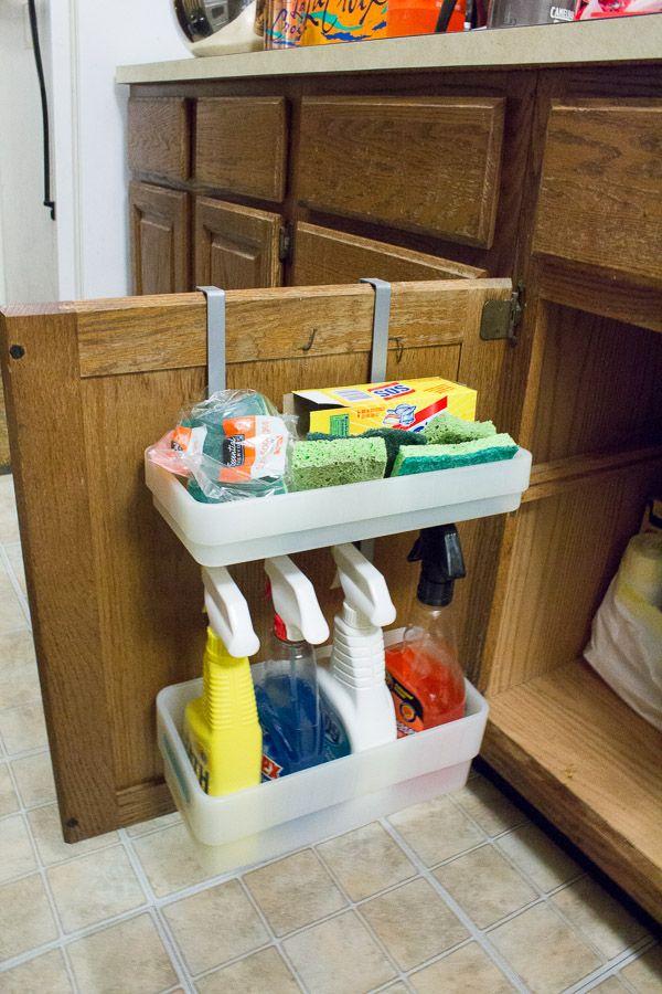 15 Small Kitchen Storage & Organization Ideas » Apartment Living Blog » ForRent.com : Apartment Living