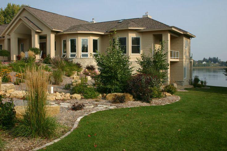 native hillside landscaping idea for Minnesota