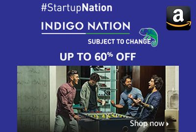 Amazon is offering Upto 60% off on Indigo Nation Men's T-Shirts & Polos, Shirts, Jeans, Shorts, Sportswear, Innerwear, Trousers, Jackets, Suits & Blazers, Sweatshirts & Hoodies, Sweaters.  http://www.paisebachaoindia.com/indigo-nation-mens-tshirts-shirts-upto-60-off-amazon/