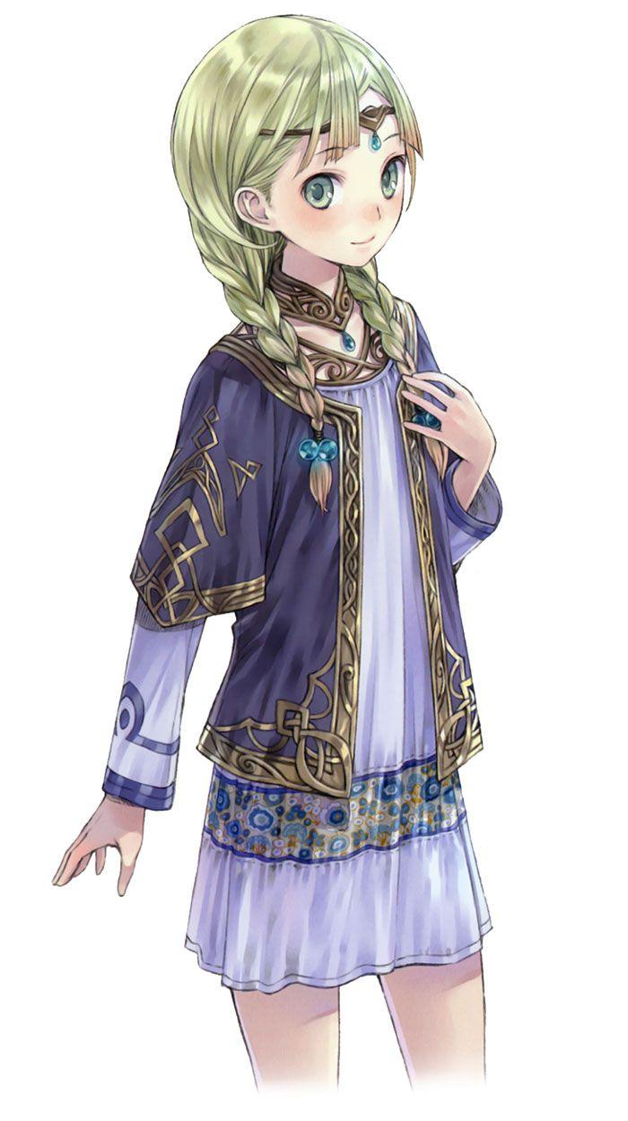 Piana - Characters & Art - Atelier Totori: The Adventurer of Arland