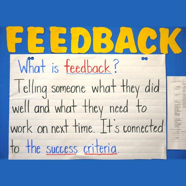 26 best Knowledge Building images on Pinterest Balanced literacy - format for feedback form