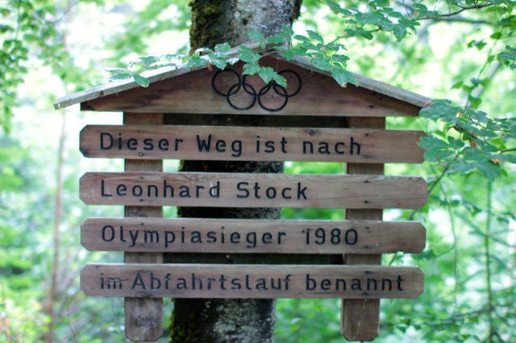 Meine Momente auf dem Wanderweg zwischen Stock resort im Finkenberg und Mayrhofen, der nach Leonhard Stock dem Olympiasieger 1980 im Abfahrtslauf benannt wurde!