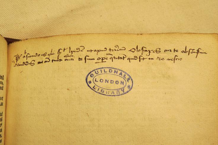 Inc 2. Author: Alexander, de Villa Dei . Title: Grammatica Latina Alexandri. 1497: 1500. Early hand in Latin.