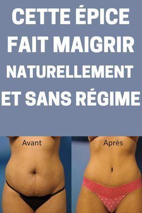 Pour perdre du poids naturellement et maigrir sainement