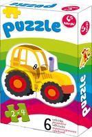 logo przedmiotu Pierwsze puzzle - pojazdy