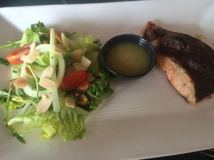 Salmon BBQ at Maguro Asian Bistro, Nusa Dua Beach Hotel & Spa, Bali