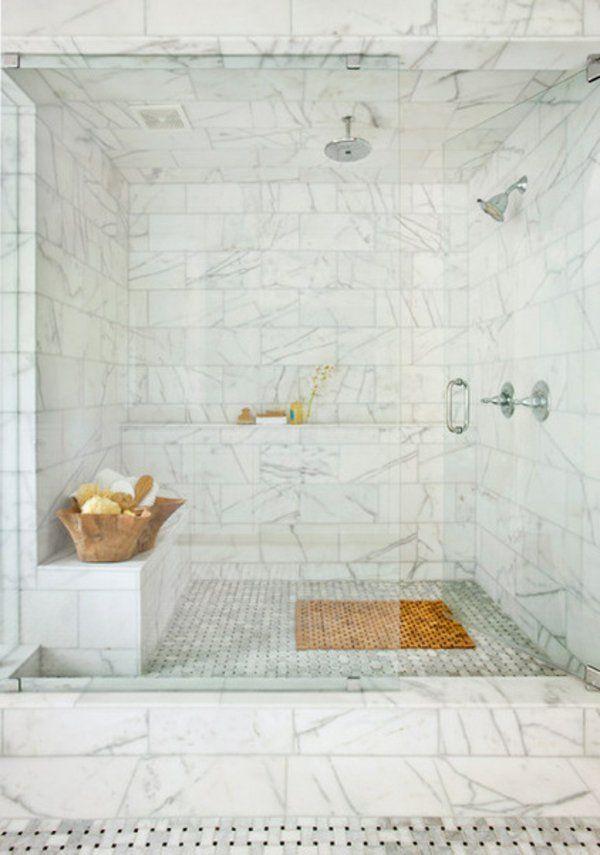 Renovierung Ihres Badezimmers Marmor Dusche Idee