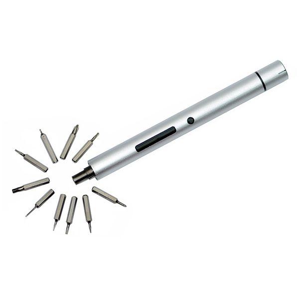 Wowstick A1 destornillador eléctrico 1/8 pulgadas de mini litio sin cable con iluminación LED