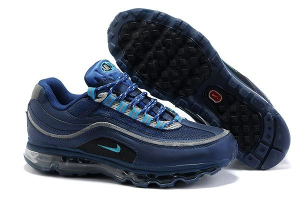 397252-400 Nike Air Max 24 7 Midnight Navy Blue Lacquer AMFM0553