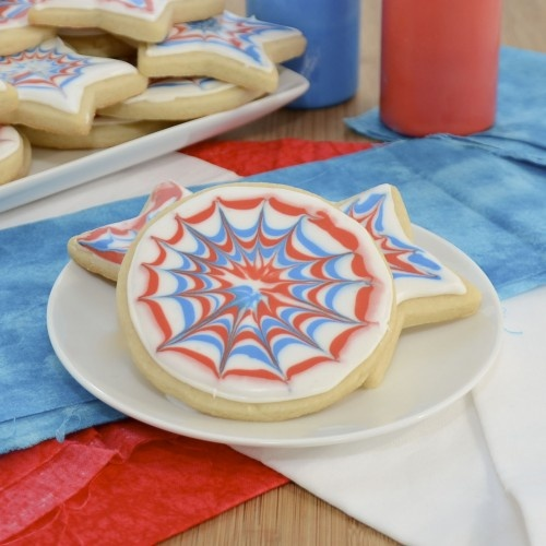 Fireworks Cookies...fun and festive cookies for the 4th of July ...