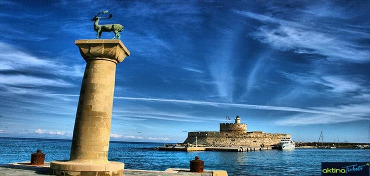''Το σμαραγδένιο νησί,το νησί των Ιπποτών,το νησί του Ήλιου,το πιο φωτεινό και λαμπερό'' !! Η πανέμορφη Ρόδος μας!! ✦Kάντε κράτησή μετ'επιστροφής για Ρόδο,από 36€,μέσα από το αktinatickets.gr,για πτήσεις της Olympic . ✈✈Κρατήσεις εως 28/5/2013  ✈✈Ταξίδι από 15/9/2013 εως 18/12/2013