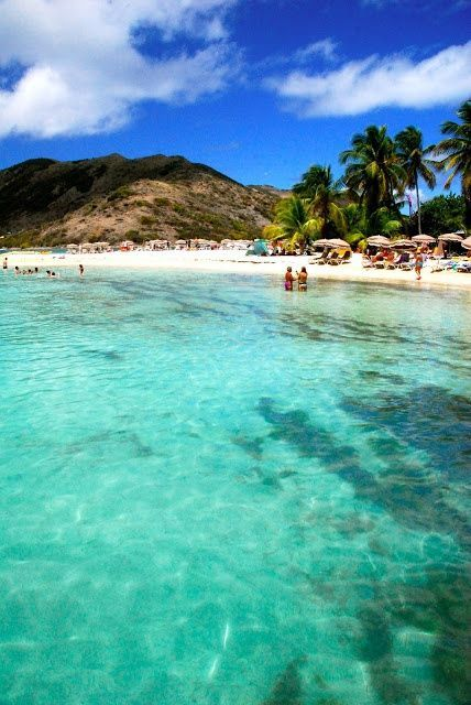 Pinel Island, St. Maarten | A lush oasis of clear water and powdery sand, this Caribbean beach offers food, drinks, relaxation, and activities for the whole family.