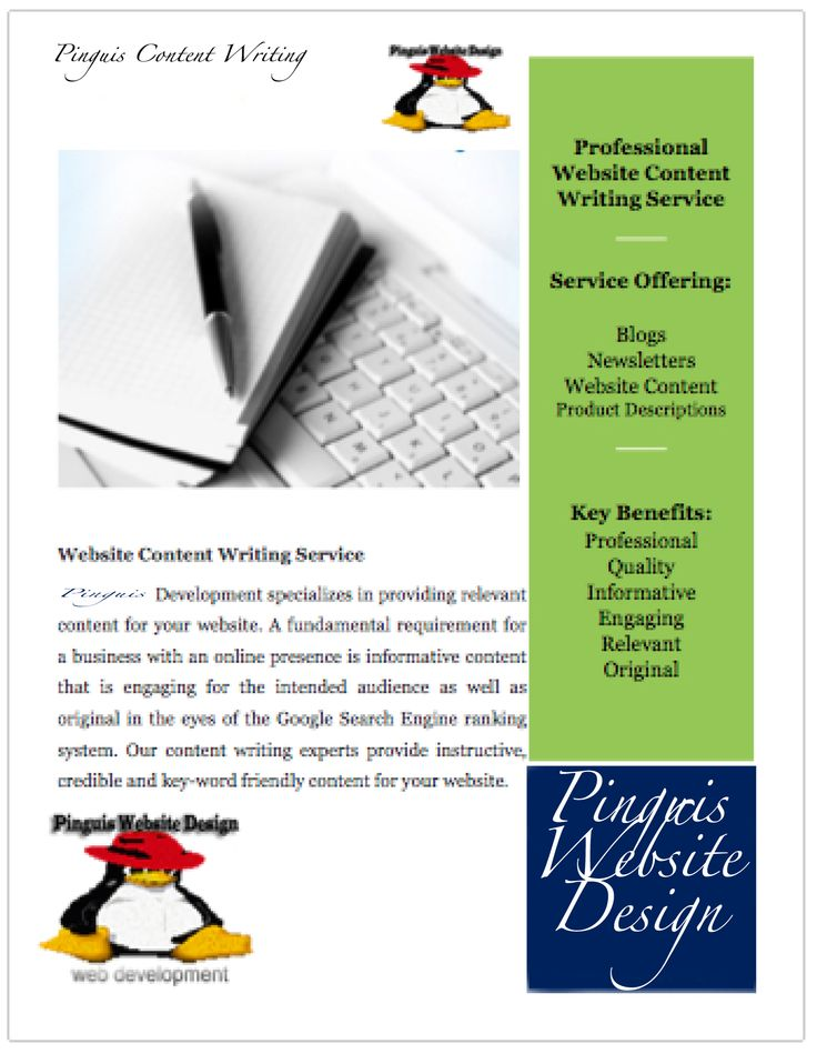 Pinguis Content Writing Services in Co. Kerry Ireland