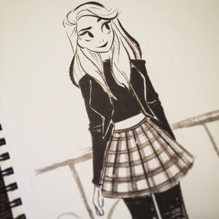 Best 25 cartoon girls ideas on pinterest cartoon people for Cute drawing ideas for girls