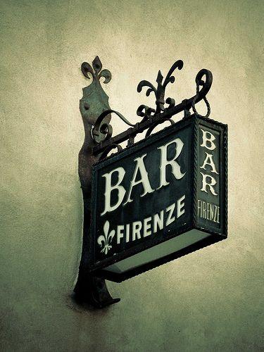Bar Sign Firenze NGS