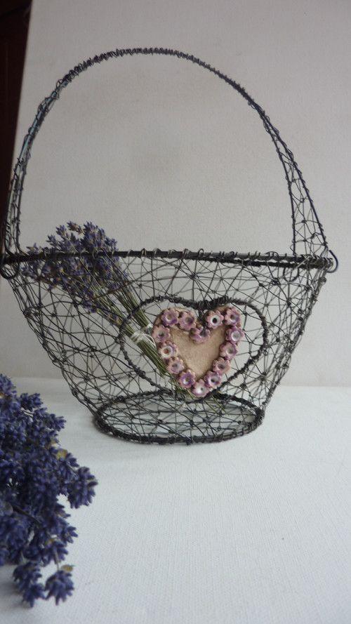 košíček alá romantika