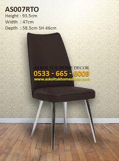 AS Koltuk Home Decor: For Sale - Stylish Retro Steel Chair