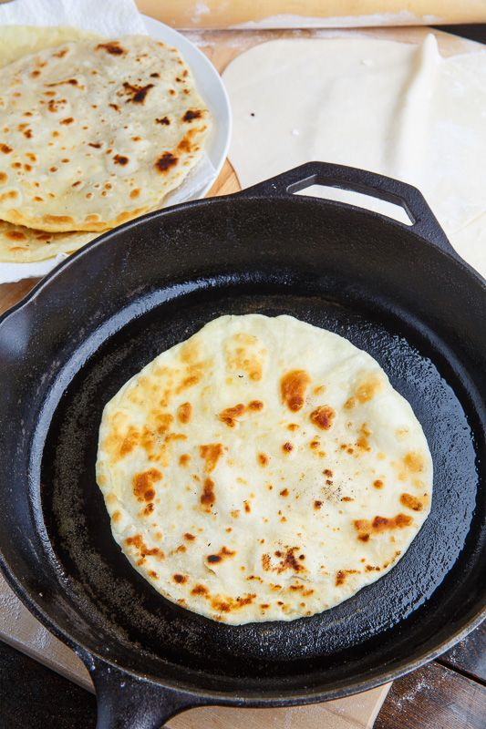 Paratha I love this Indian bread.