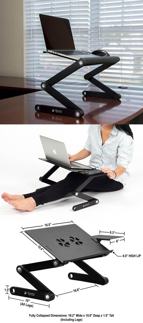 Best 25+ Portable desk ideas on Pinterest | Portable laptop desk ...