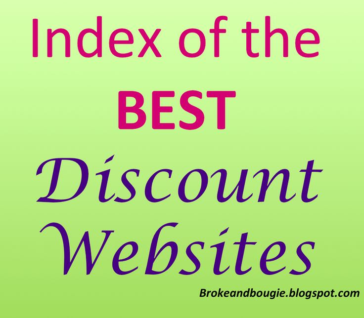 broke and bougie best discount websites index ie broke and bougie bible