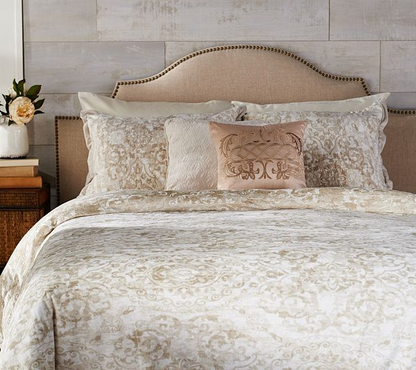 Get Two Luxe Looks From One Cozy Coverup With This Velvet Reversible Comforter Set Qvc Com