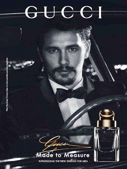 Gucci Launches Made to Measure Fragrance with James Franco as their Leading Man