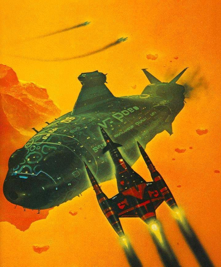 70s Sci Fi Art Chris Foss: 238 Best Space Pirates Inspiration Images On Pinterest
