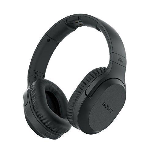 nice Sony MDR-RF895RK - Auriculares inalámbricos (Cancelación de ruido, transmisión por radiofrecuencia, 20 horas de batería, modo voz) color negro