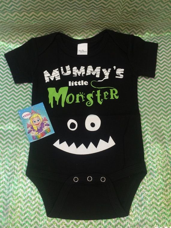 Baby Boys Halloween Shirt Top Onesie Mummy S By