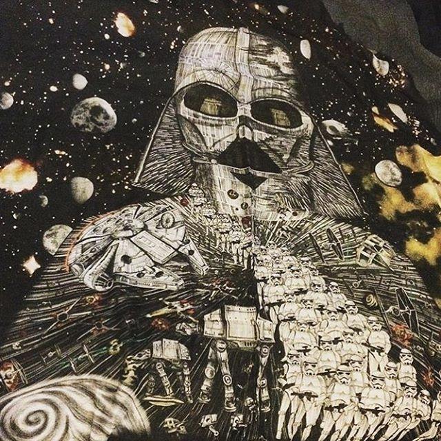 Emma J Shipley x Star Wars scarf ⭐️ Star Wars fashion ⭐️ Geek Fashion ⭐️ Star Wars Style ⭐️ Geek Chic ⭐️