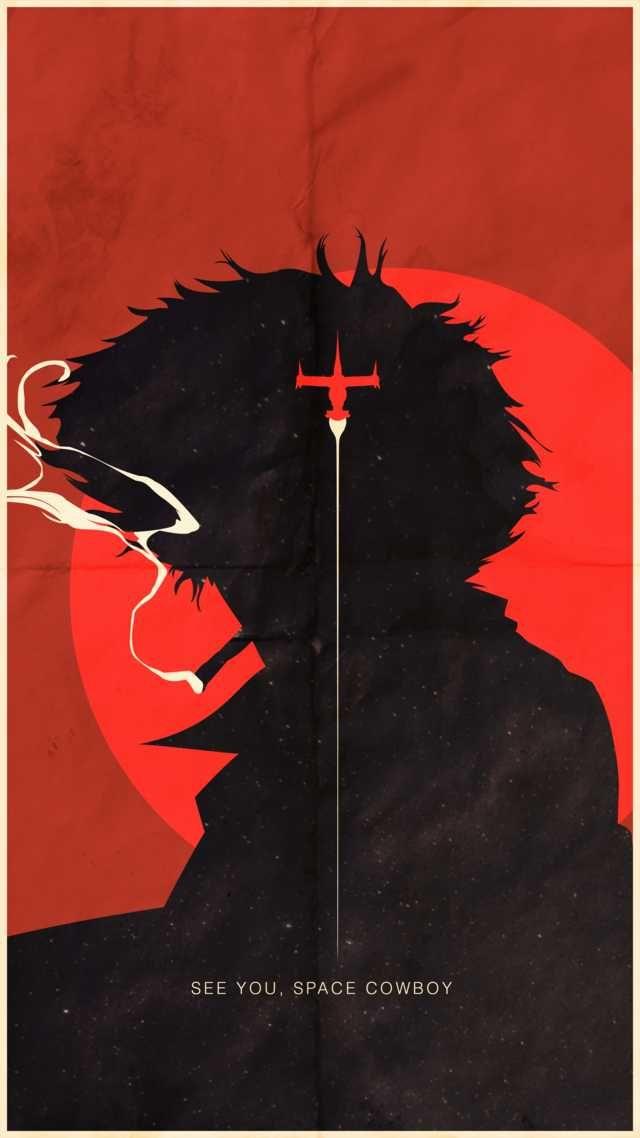 Spike Poster Retouched Cowboy Bebop Anime Cowboy Bebop Wallp