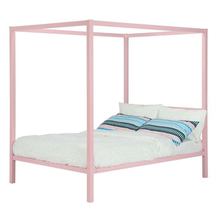 Best 25 Metal Canopy Bed Ideas On Pinterest Metal