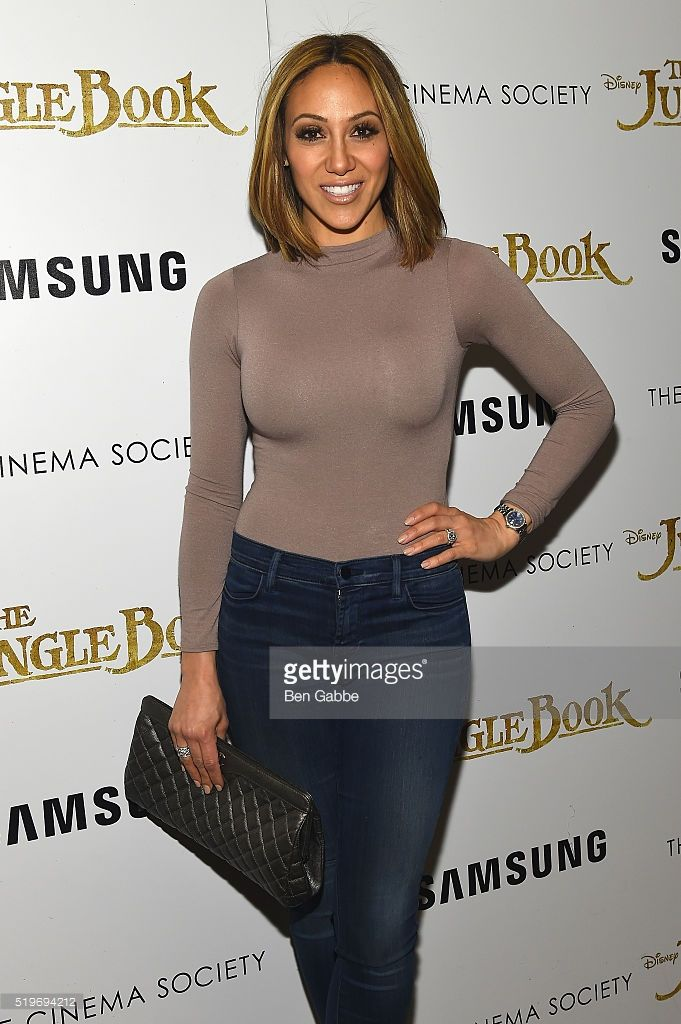 Television Personality Melissa Gorga attends as Disney with The Cinema Society & Samsung host a screening of 'The Jungle Book' at AMC Empire 25 theater on April 7, 2016 in New York City.