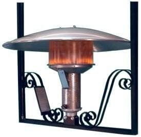 Sunglo Natural Gas Hanging Patio Heater by Sunglo. $1016.00. This heater includes a heater head, hanging bracket and a reflector to provide quiet and convenient indoor or outdoor heating. 100% safety shutoff. This is a manual hanging patio heater, that directly radiates heat on the object, which absorbs and radiates it back to the surroundings. Made of rust free material and having an automatic on /off controls, this heater is ideal for an effortless operation in your patios...