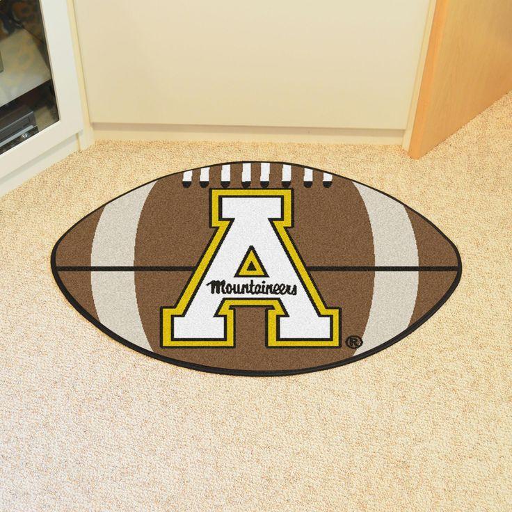 "Appalachian State Football Rug 20.5""""x32.5"""""