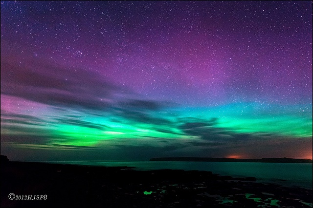 Aurora Borealis - Orkney _MG_9477 by HJSP82, via Flickr