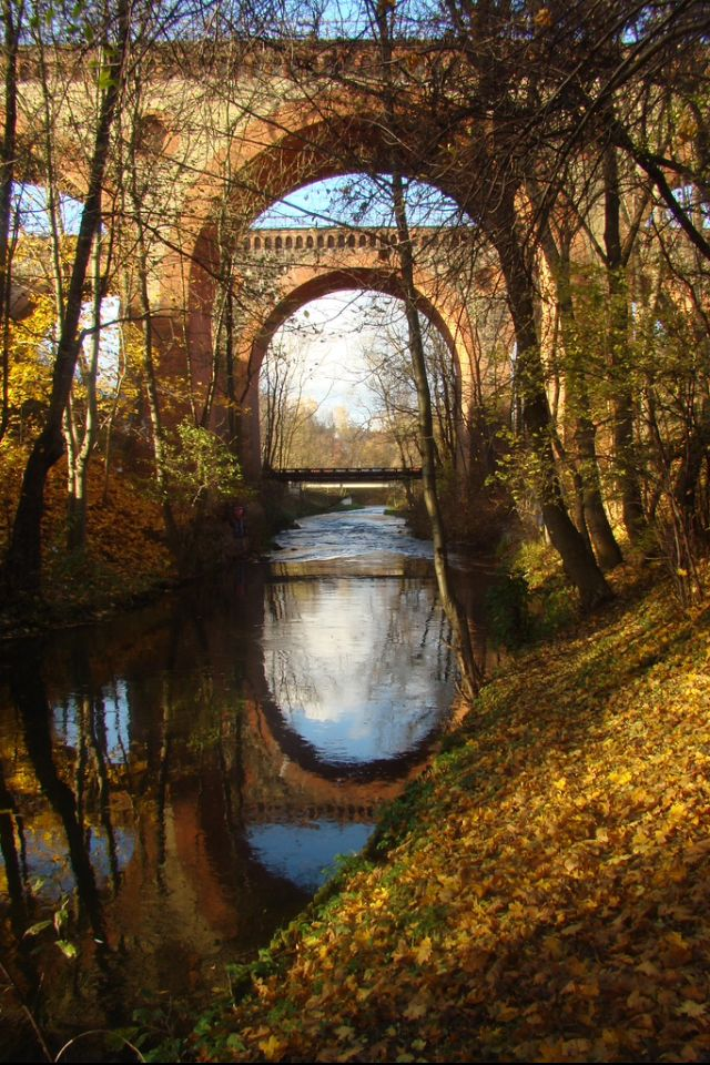 Railway Bridges in Olzstyn, Poland