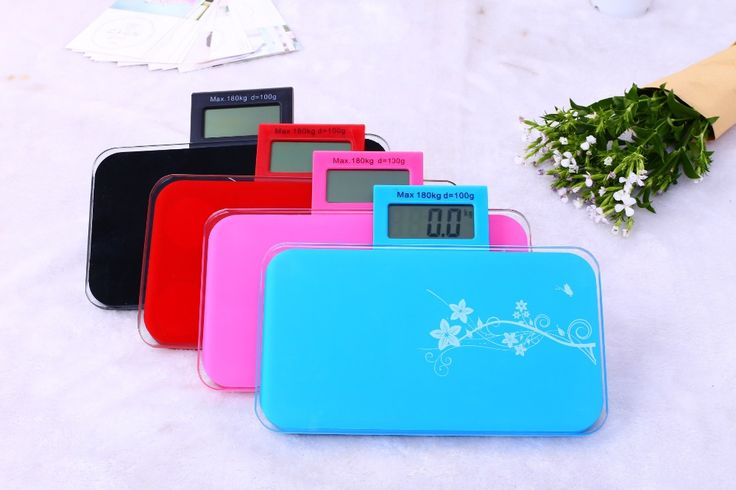 1 pc flower smart digital household scales electronic body bariatric LCD weight measuring bathroom floor scale max 180kg