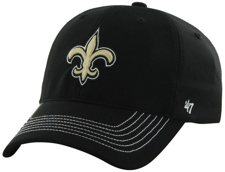 NFL Game Time Closer Stretch Fit Cap New Orleans Saints