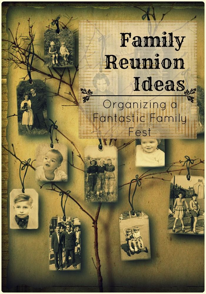 Family Reunion Ideas Images