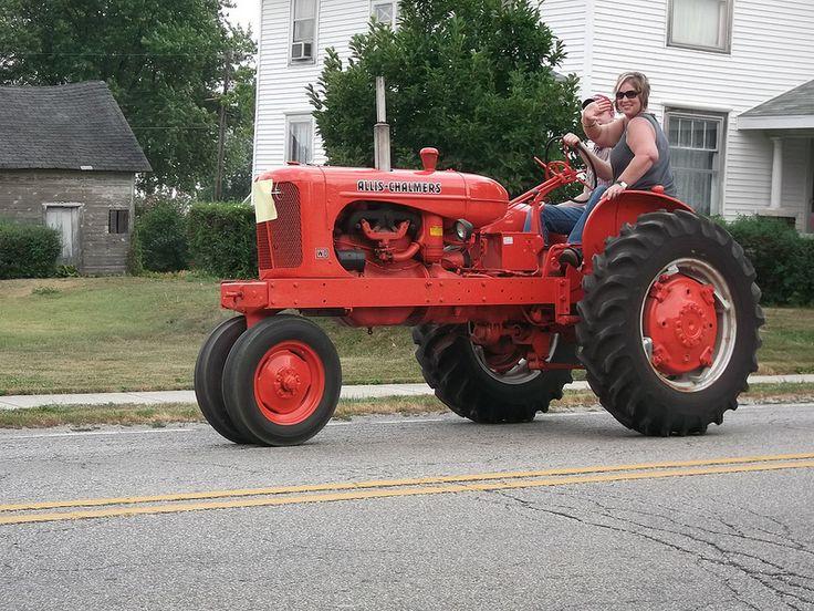 Vintage Allis Chalmers Tractors : Best tractors are cool images on pinterest