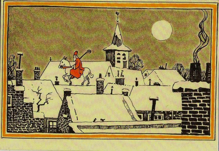 uit Ons nieuwe Sinterklaasboek door Geertruida van Vladeracken en A Zurchen 1928
