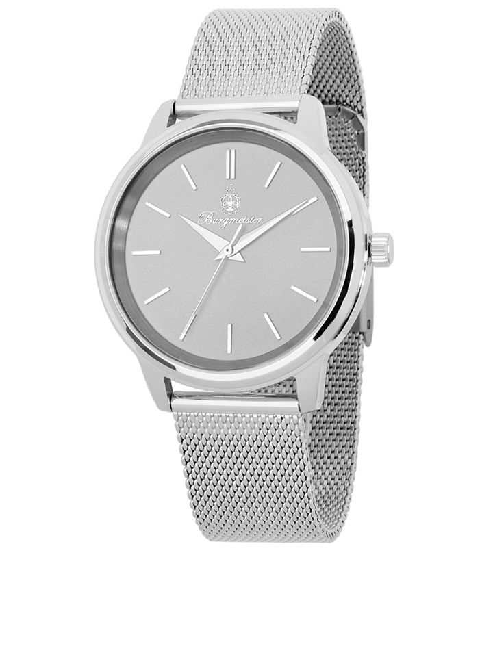 Zegarek kwarcowy &;Grenoble&; w kolorze srebrnym - 4260317823686